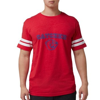 Catcher - Blue Mens Football Shirt