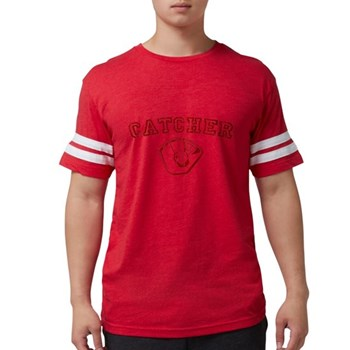 Catcher - Red Mens Football Shirt