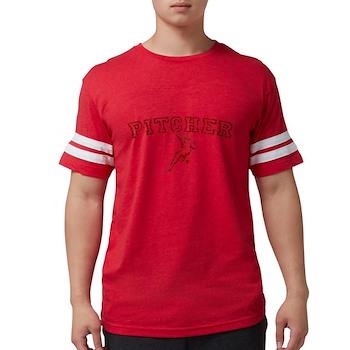 Pitcher - Red Mens Football Shirt