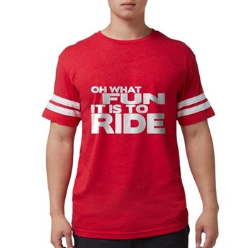 Oh What Fun It Is to Ride Mens Football Shirt