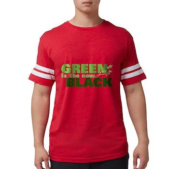 Green is the New Black Mens Football Shirt