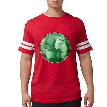 Green Earth - Recycle Mens Football Shirt