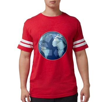 Blue Planet - Recycle Mens Football Shirt