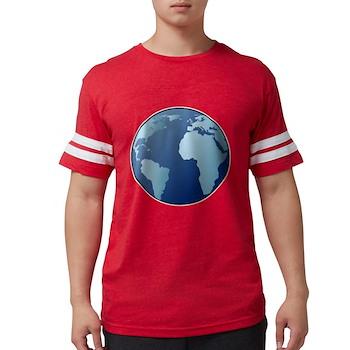 Blue Planet Mens Football Shirt