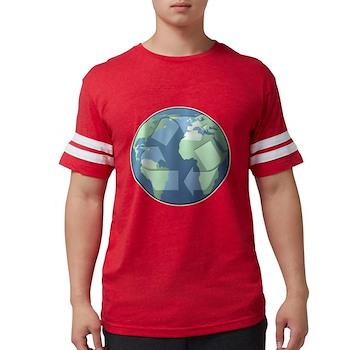 Planet Earth - Recycle Mens Football Shirt