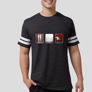 Eat Sleep Dexter Mens Football Shirt