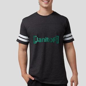 Scrubs Janitor Mens Football Shirt