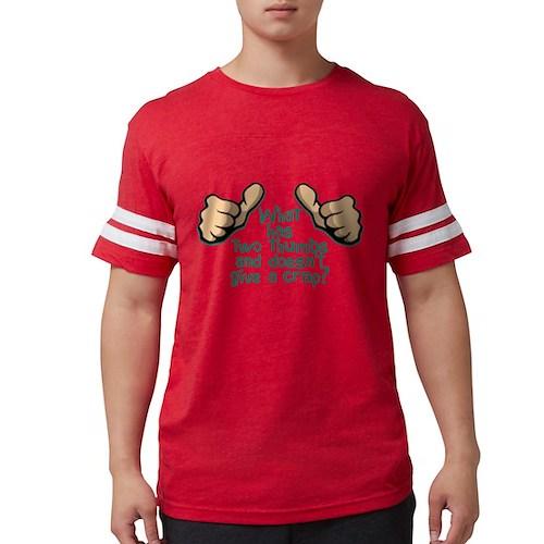 Two Thumbs Mens Football Shirt