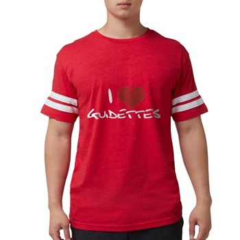 I Heart Guidettes Mens Football Shirt