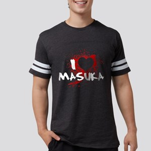 I Heart Masuka Mens Football Shirt