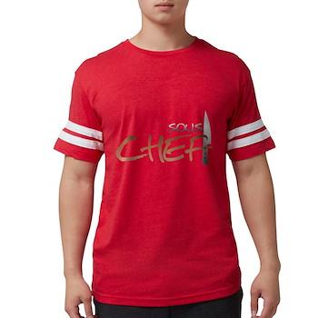 Orange Sous Chef Mens Football Shirt