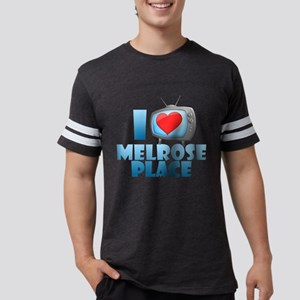 I Heart Melrose Place Mens Football Shirt