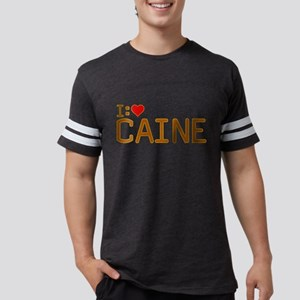 I Heart Caine Mens Football Shirt
