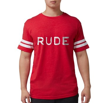 Rude Mens Football Shirt