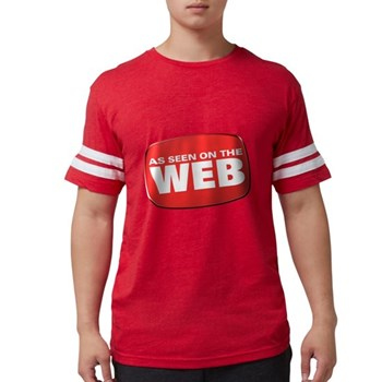 As Seen on the Web Mens Football Shirt