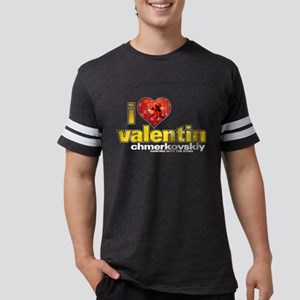I Heart Valentin Chmerkovskiy Mens Football Shirt