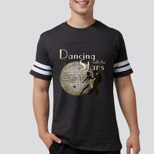 Retro Dancing with the Stars Mens Football Shirt