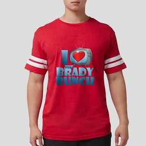 I Heart The Brady Bunch Mens Football Shirt