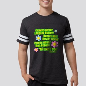 Clowns Never Laughed Before Mens Football Shirt