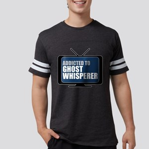 Addicted to Ghost Whisperer Mens Football Shirt
