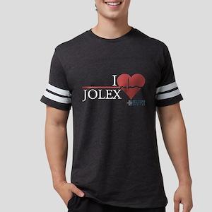 I Heart JOLEX - Grey's Anatom Mens Football Shirt