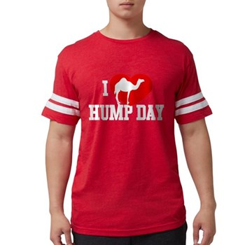 I Heart Hump Day Mens Football Shirt