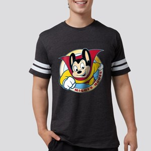 Mighty Mouse Mens Football Shirt