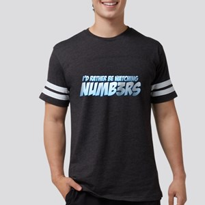 I'd Rather Be Watching Numb3r Mens Football Shirt