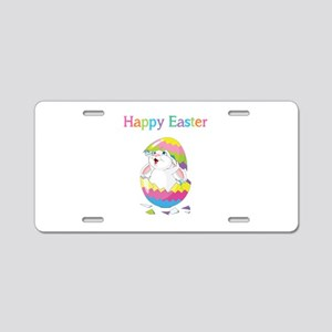 Happy Easter Aluminum License Plate