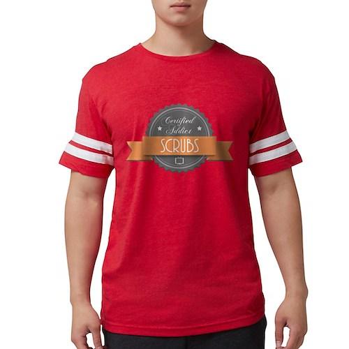 Certified Addict: Scrubs Mens Football Shirt