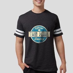 Official Twin Peaks Fanboy Mens Football Shirt