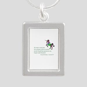 Scrubs Unicorn Quotes Necklaces