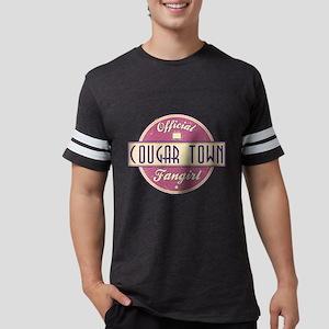 Official Cougar Town Fangirl Mens Football Shirt