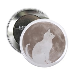 First Cat on the Moon! Button