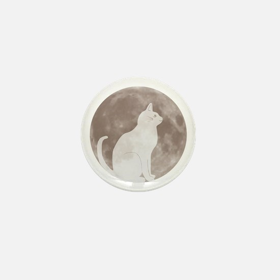 First Cat on the Moon! Mini Button