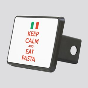 Keep Calm And Eat Pasta Rectangular Hitch Cover