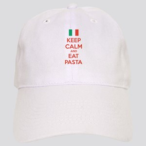 Keep Calm And Eat Pasta Cap