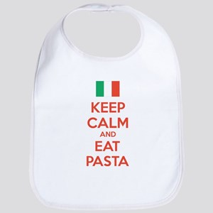 Keep Calm And Eat Pasta Bib