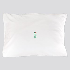 Keep Calm And Eat Pasta Pillow Case