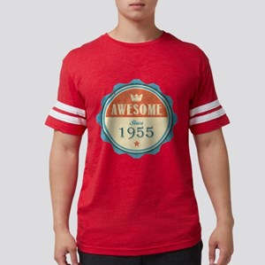 Awesome Since 1955 Mens Football Shirt