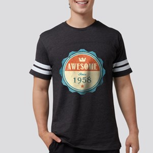 Awesome Since 1958 Mens Football Shirt