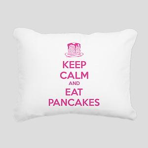 Keep Calm And Eat Pancakes Rectangular Canvas Pill