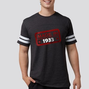 Stamped Made In 1933 Mens Football Shirt