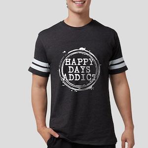 Happy Days Addict Mens Football Shirt
