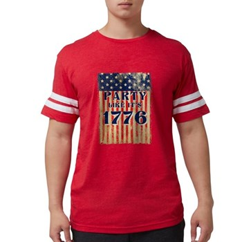 Party Like It's 1776 Mens Football Shirt