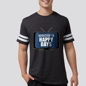 Addicted to Happy Days Mens Football Shirt