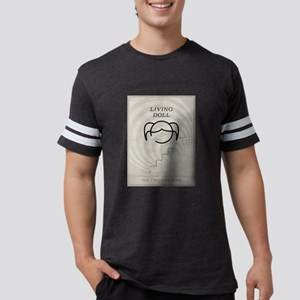 Living Doll Minimal Poster Mens Football Shirt