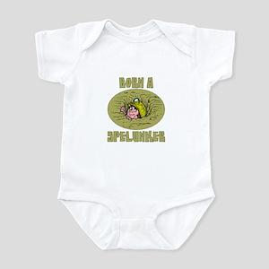 Born a Spelunker Infant Bodysuit