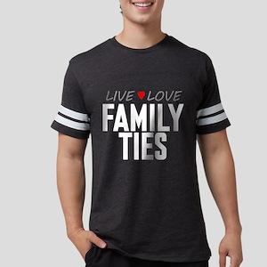 Live Love Family Ties Mens Football Shirt