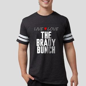 Live Love The Brady Bunch Mens Football Shirt